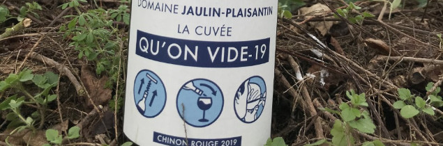 "The wine is designed as a pop-up label: ""I hope we won't be talking about it in 3-4 months' time. It would be worrying if we were still talking about it in ten years' time! Our intention is not to capitalise on it""."
