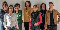 Les dix femmes sont «productrices, gestionnaires, commerciales, chargées des relations publiques ou de l'œnotourisme» détaille un communiqué.