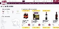 Le site internet 'jereservemafoireauxvins.com' lancé par Carrefour propose cette année 800 références environ