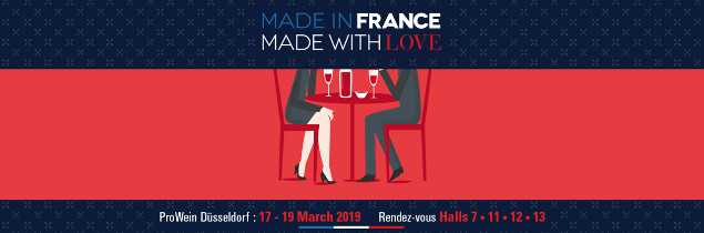 On stand A160 Hall 11, Business France will present 100 French wines freshly selected by an international panel