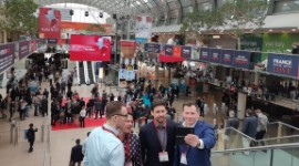 The 2019 ProWein was another successful event, attracting around 61,500 visitors, up 1.6%