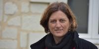 Amélie Neau vient d'être élue présidente de l'appellation Saumur-Champigny.