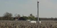 Plusieurs éoliennes fixes ou mobiles ont été installées en Cuma dans le vignoble de Montlouis depuis 2019.