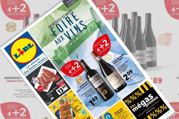 Commerce / economie -Distribution- : Lidl casse les prix des vins de Bordeaux à 1,69 € la bouteille - Vitisphere.com