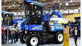 Les machines à vendanger Braud 9000 de New Holland font peau neuve.