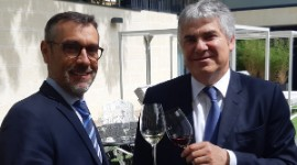 """Vinexpo will be smaller than in its boom years due to a strongly competitive environment"", said Vinexpo director Rodolphe Lameyse."