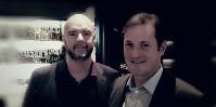 De gauche à droite : Heini Zacharienssen, CEO de Vivino et Paul Guillet, Country manager France.