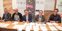 La convention a été signée par Pascal Augier (directeur régional de l'Agriculture et de la Forêt en Occitanie), Guy Bascou (président de la commission technique du CIVL), Philippe Mauguin (PDG de l'INRA), Michel Defrances (président de l'IVSO) et Nicolas Rech (président de l'IFV Sud-Ouest) à l'Ineopole Formation de Gaillac.