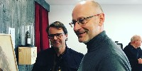 Louis Poitout (à droite) et Frédéric Guegen (à gauche) co-président la FDAC; ils passeront la main lors du prochain Conseil d'administration