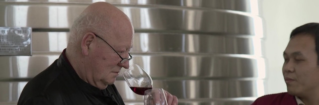 "In China,Gérard Colin was a real star. ""Our wine emperor"" says one of his client."