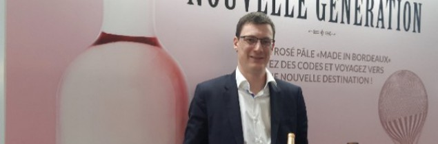 """Cans allow wine to be introduced at events where it would normally be banned, such as festivals"", explained Thierry Berger on Producta's stand at Vinexpo on May 13."