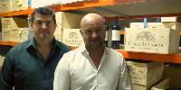 Les deux fondateurs de Vinatis :  Olivier Ivangine et Emmanuel Toussaint.