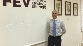 José Luis Benítez, general director of the Spanish Wine Federation