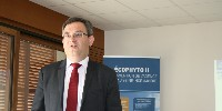 Vincent Perrin, directeur du Comité Champagne, appelle à la mobilisation pour diminuer l'usage des intrants. Point positif souligné, la Champagne n'utilise pratiquement plus d'insecticides.
