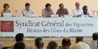 A pat on the back for the economic health of Rhone wines