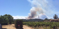 A Ramatuelle, l'incendie qui s'est déclaré le 24 juillet a touché le domaine de La Tourraque