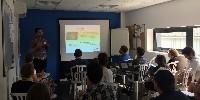 Lors de la réunion SmartLink du 5 juillet, le laboratoire Excell a présenté ses différentes analyses possibles des contaminants présents dans un chai ancien ainsi que ceux que pouvaient renfermer certains matériaux.
