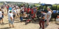 La foule a répondu présent malgré une chaleur accablante pour la démonstration des interceps testés, le 24 juillet 2019 à Ste-Lheurine (17)