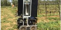 Photographie du prototype de la start-up UV Boosting. La version commerciale sera adaptable sur un tracteur