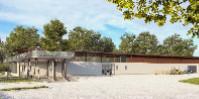 La terrasse de 250 mètres carrés va donner une vue inédite sur la vallée de la Garonne.