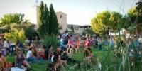 Le Mas de Saporta est déjà un lieu d'accueil : tous les étés, il accueille les Estivales.
