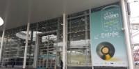 Entrée de Vinovision en 2017 au Parc des Expositions de la porte de Versailles à Paris. En 2019, Vinisud y sera aussi.