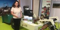 Sabri-Agri a reçu une récompense pour ses tracteurs électriques Alpo, lors du salon Med'Agri - Tech & bio 2018