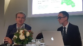 "Maxime Toubart, chairman of the Champagne winegrowers' organisation SGV (left), warns: ""If we have no guarantee that the new areas resulting from the review of production boundaries will be regulated after 2030, we will face our responsibilities and suspend work on boundary demarcation""."