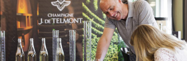 One third of the grapes grown by Maison J. de Telmont are currently certified organic. In 2021, the estate will also be HVE certified.