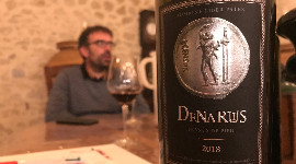 Currently marketing his first 1,200 bottles out of a total 6,000 of the 2018 Denarius label, Loïc Pasquet claims his winemaking ideology is styled more after Burgundy than Bordeaux.