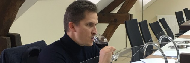 Raimonds Tomsons, Europe's Best Sommelier for 2017, was impressed by the quality of the Touraine Côts, especially those from Amboise.