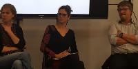 Sophie Bentejac était entourée ce 21 novembre par Cécile Labrousse de l'interprofession des vins de Bergerac qui pilote création d'un laboratoire d'innovation territorial et Olivier Lavialle, le directeur de Bordeaux Sciences Agro qui développe des partenariats entre formations.