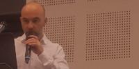 Olivier Gergaud, professeur d'économie à Kedge, lors de Vinitech 2018.