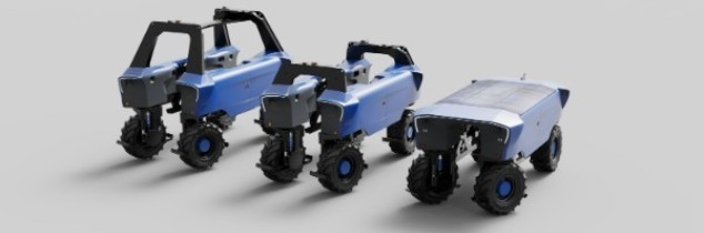 Photo of the entire Bakus straddle robot family.