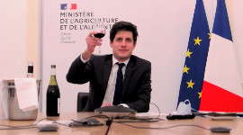 """France is the world's foremost wine country and as Minister of Agriculture and Food, this is a source of pride for me"", said Julien Denormandie."