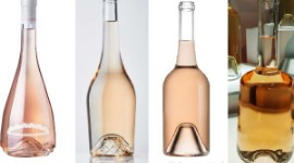 Glassmakers are innovating to give rosé wines modern bottles with a distinctive design.