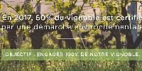 Parmi ses engagements affirmés en ligne, la filière des vins bordelais annonce «produire dans le plus grand respect de l'environnement».