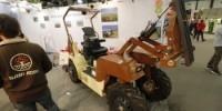 Sabi-Agri et l'un de ses tracteurs électriques, l'Alpo 4 X 4