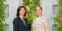 Anne Escalle & Ariane de Rothschild.