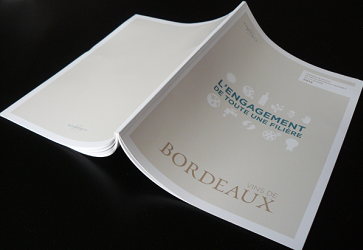 Le vignoble bordelais recueille les actions concrètes dans un rapport