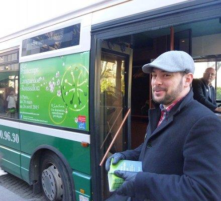 Printemps du Languedoc : un bus pour visiter Paris en dégustant des vins