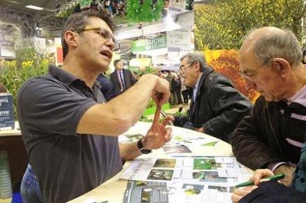 Salon de l'agriculture : Terra Vitis fait de la pédagogie sur la viticulture raisonnée