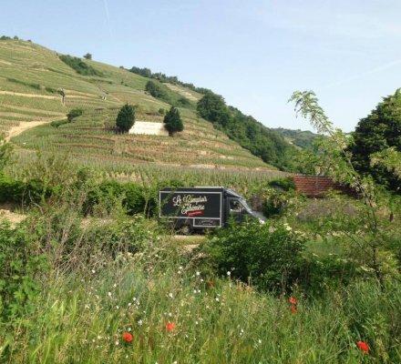 Événementiel: le «Comptoir éphémère», un concept de bar à vins itinérant
