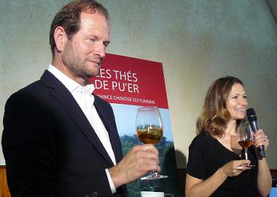 En marge de Vinexpo : accords thés et vins, de Pu'er au Saint-Emilionnais