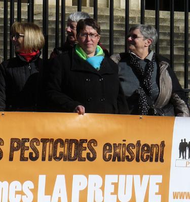 Bordeaux : Marie-Lys Bibeyran élue administratrice de Phyto-Victimes