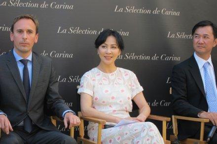 People : Carina Lau lance sa gamme de vins