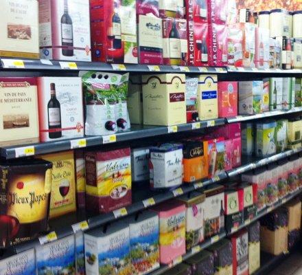 Campagne 2014-2015: nouvelle hausse des ventes de vin en BIB en grande distribution