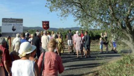Faugères : Cabrerolles accueille le ban des vendanges 2015