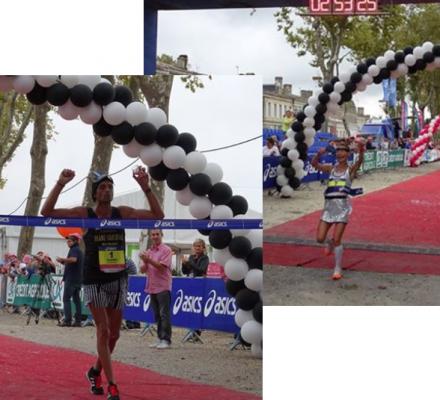 Marathon du Médoc : Thierry Guibault et Nathalie Vasseur remportent, encore, la course