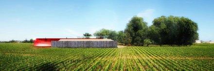 Saint-Emilion : un nouveau chai pour le Château La Dominique